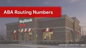 keybank routing number
